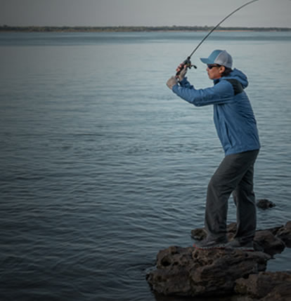 Esteja entre os grandes nomes da pesca