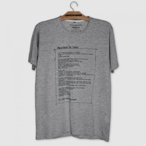 Camiseta Manifesto For Fisher