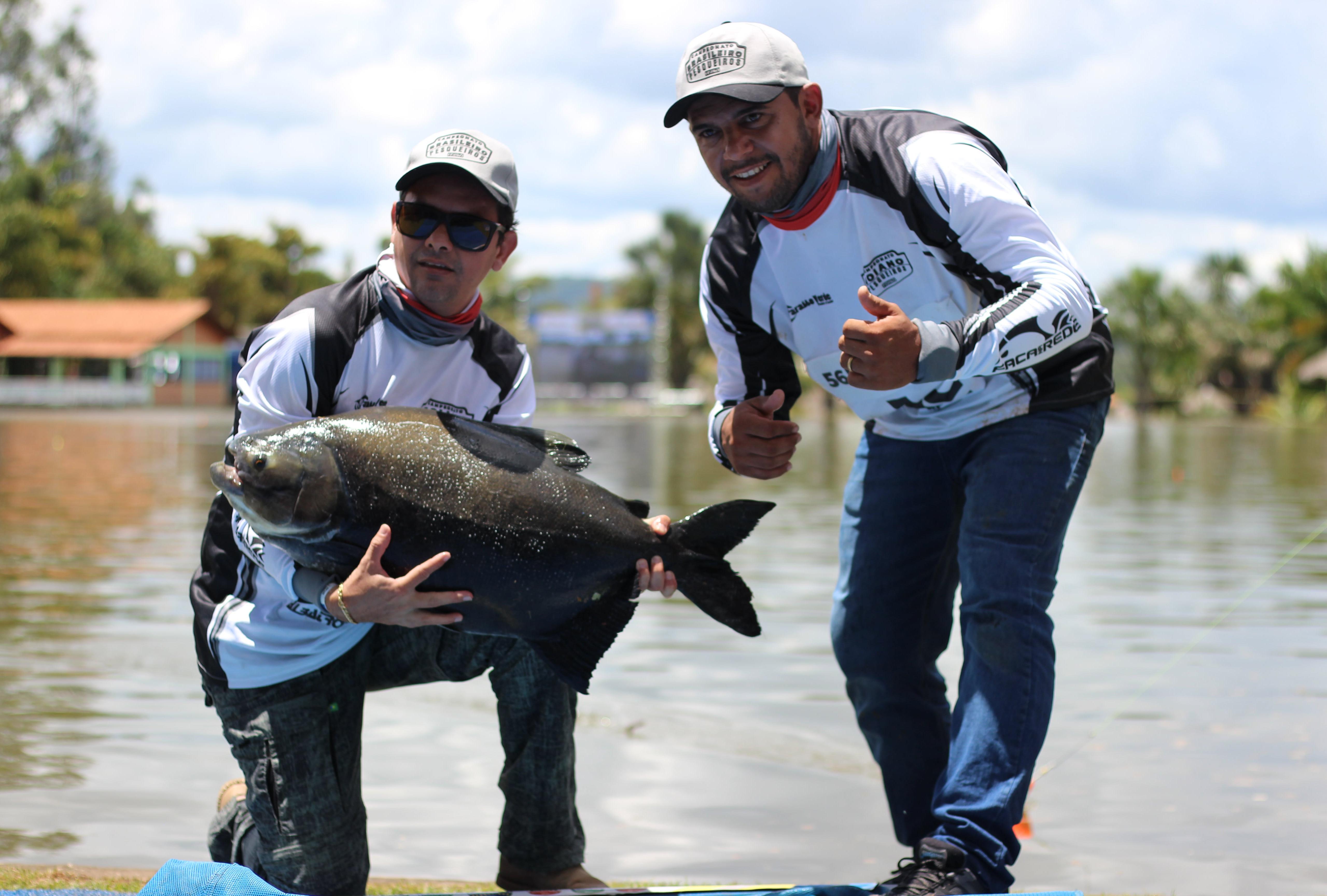Campeões do Campeonato Goiano do CBP2 se deram bem no pesqueiro