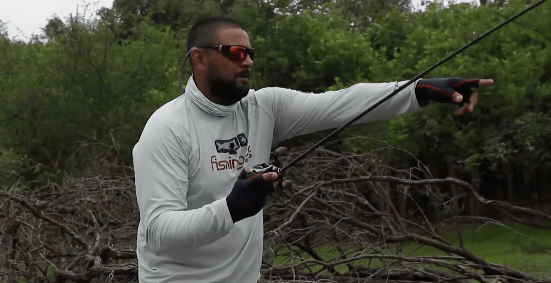 Eduardo Monteiro em pescaria na região amazônica