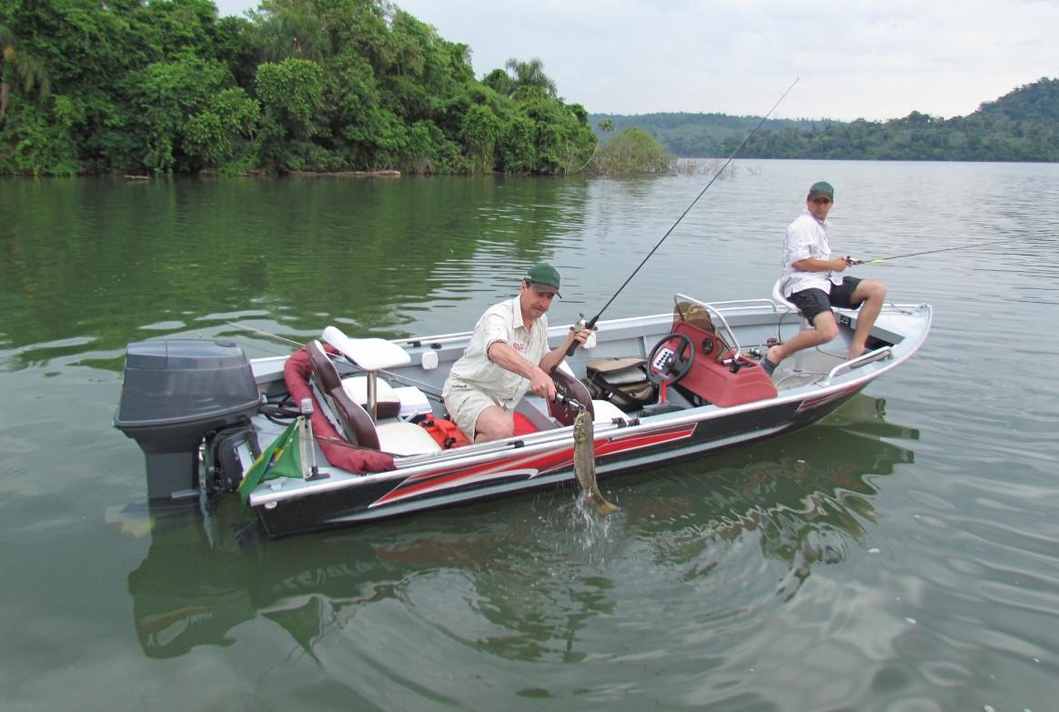 Pesca esportiva poderá se tornar a nova atração da Represa