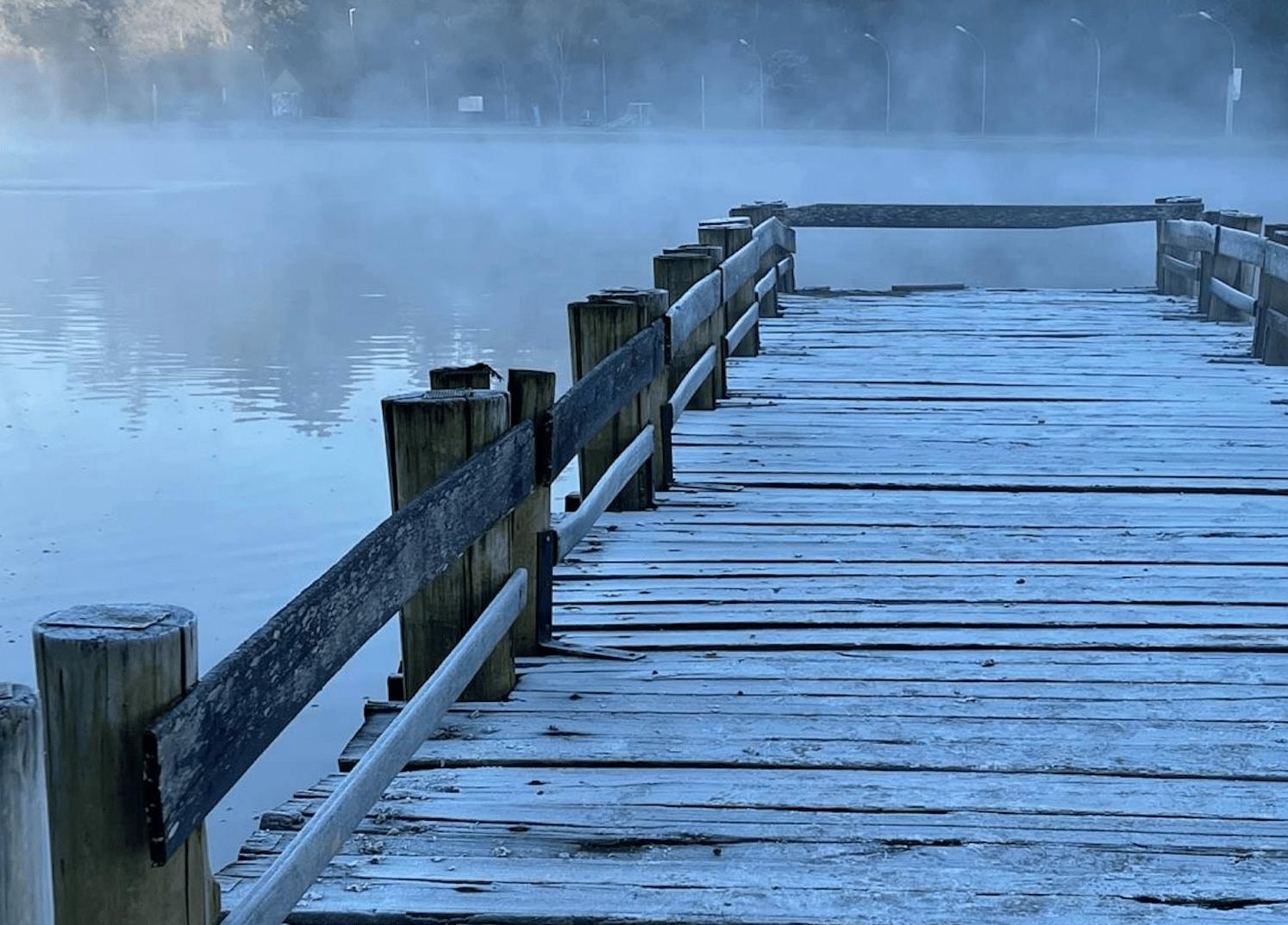 Locais ficaram quase congelados durante o inverno brasileiro de 2021