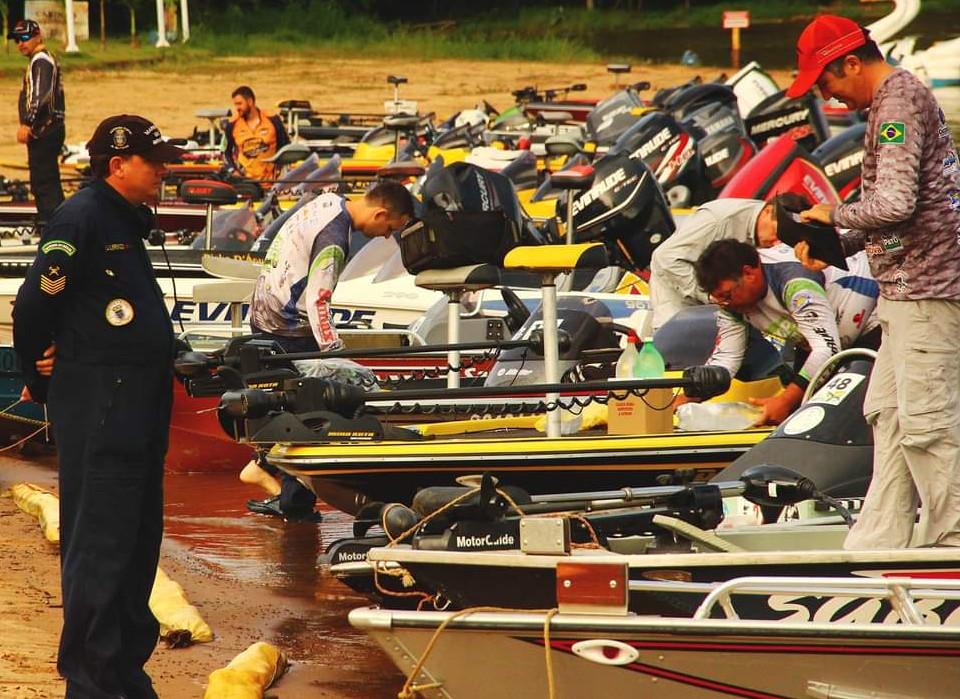 Pescadores se preparam para mais uma etapa da Copa Iguaçu de Pesca Esportiva