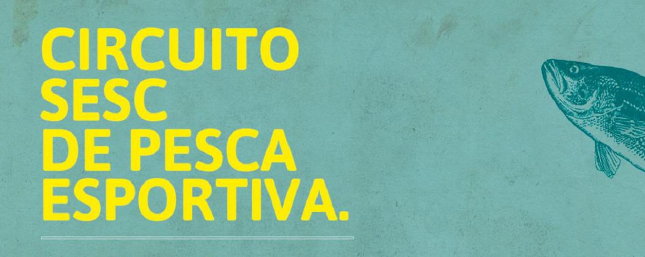 banner Circuito SESC de Pesca Esportiva