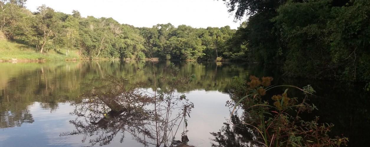 lago caiaque fishing Parque Maeda