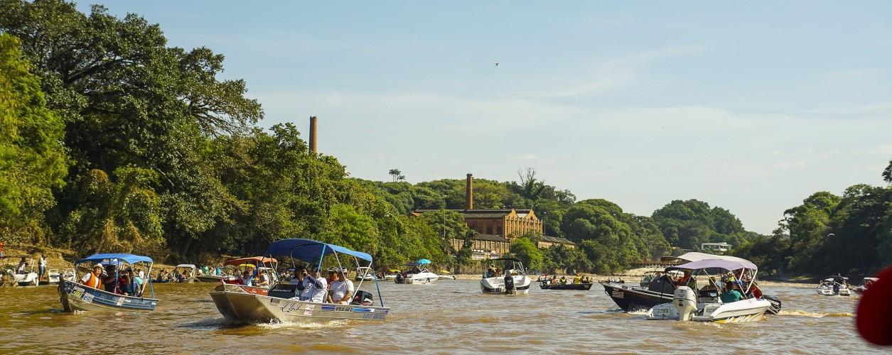 passeio de barcos, Piracicaba