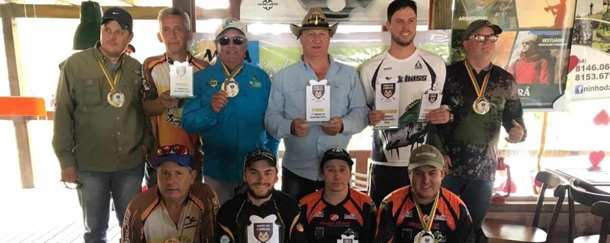 Campeões 3º Torneio Pesca Esportiva Ninho da Coruja, Canela