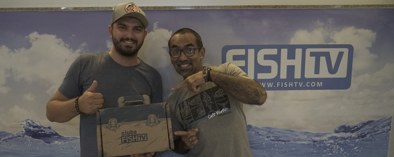 GANHADOR DE SORTEIO DO CLUBE VISITA SEDE DA FISH TV