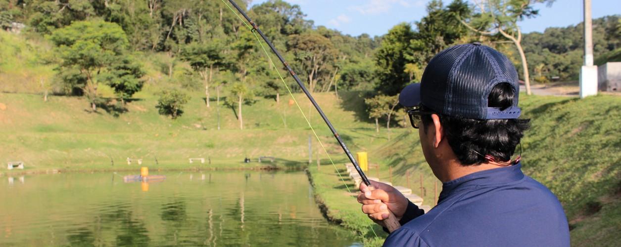 Pesca esportiva em pesqueiro