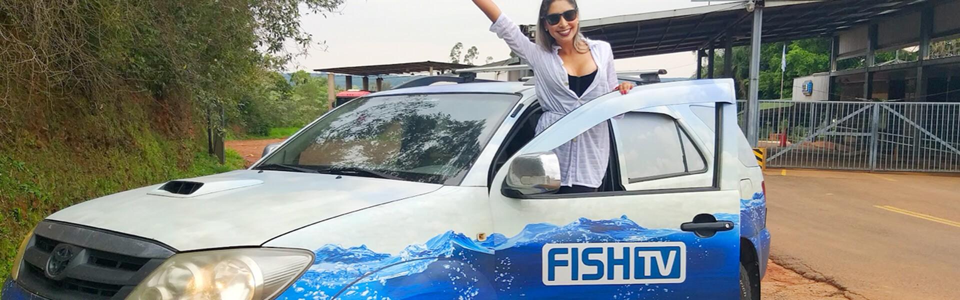 Viagens de carro para pescar