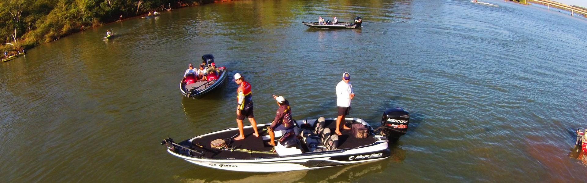 Conheça os vencedores dos torneios de pesca esportiva do fim de semana