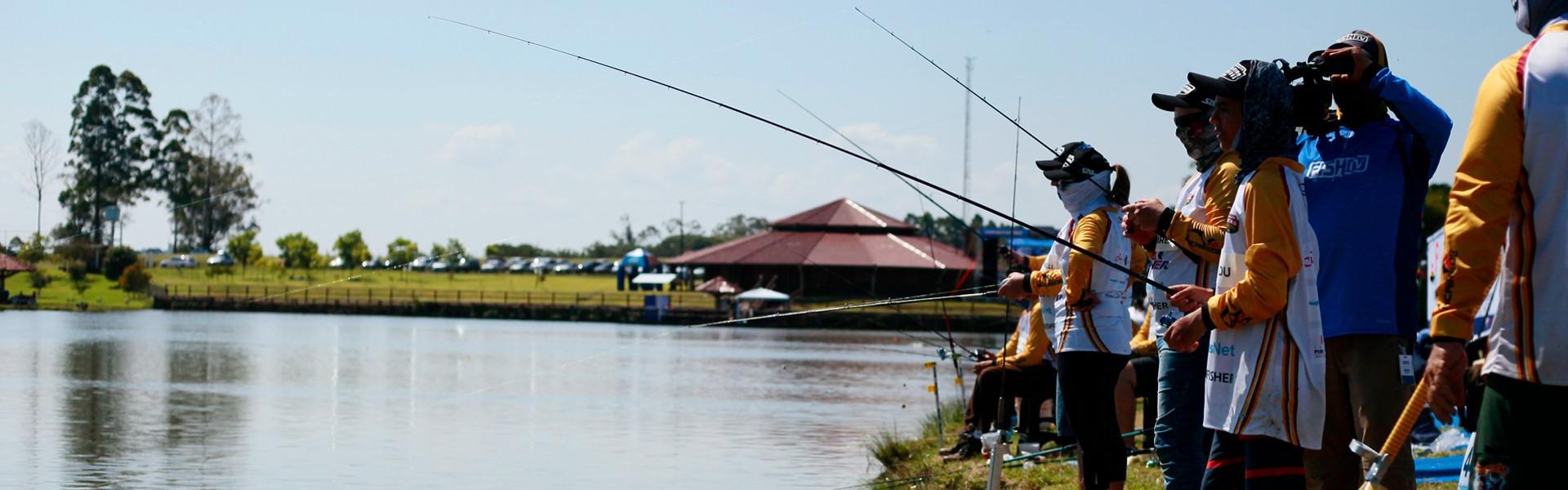 Campeonato Brasileiro em Pesqueiros: confira 4 dicas para ir bem nas etapas do Sul