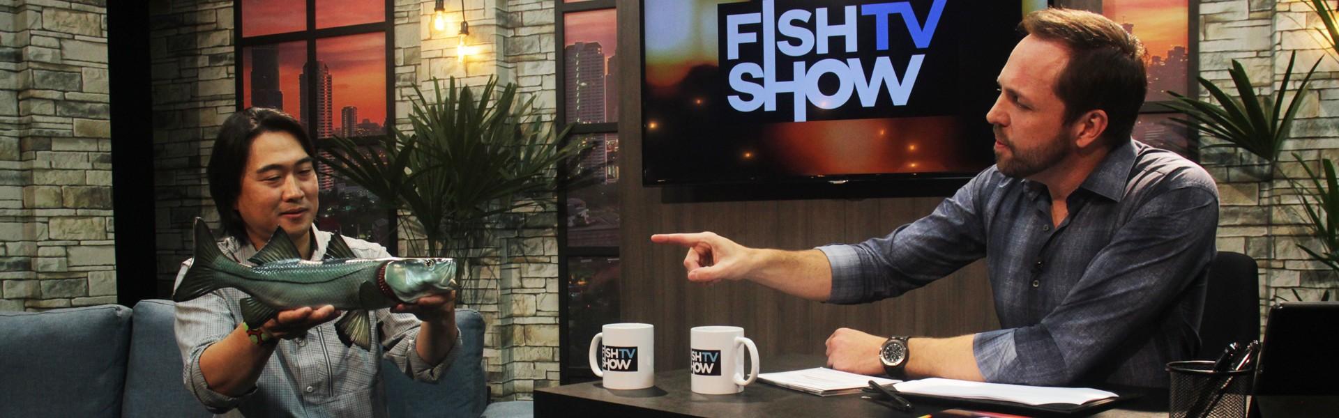 Fish TV Show: Lawrence Ikeda é o convidado da semana