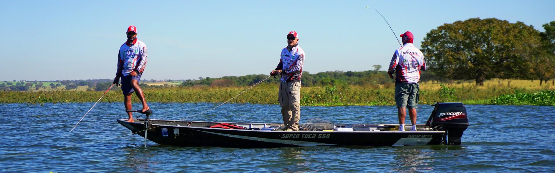 Confira os torneios de pesca esportiva que foram atração no último fim de semana