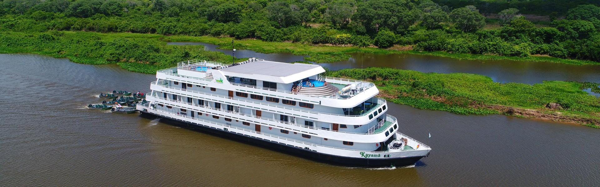Barco-hotéis ganham classificação específica dentro do Cadastur do Ministério do Turismo