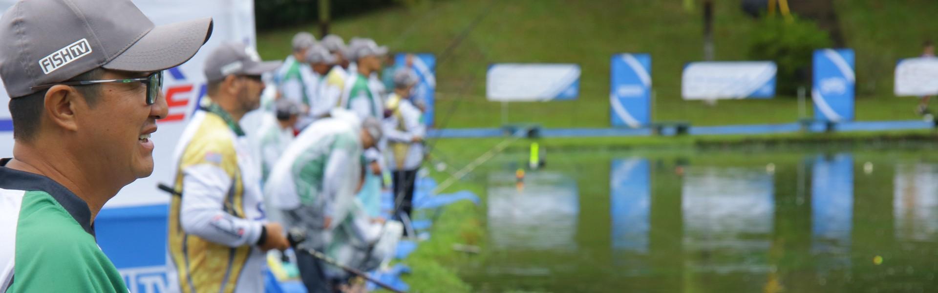 Arena do Campeonato Catarinense em Pesqueiros abre para os treinos dos competidores