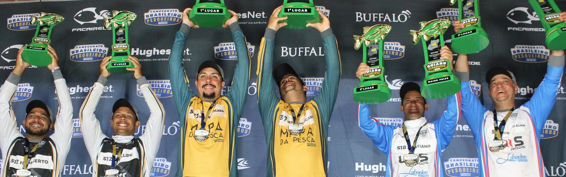 Saiba quem foram os vencedores do Campeonato Goiano em Pesqueiros
