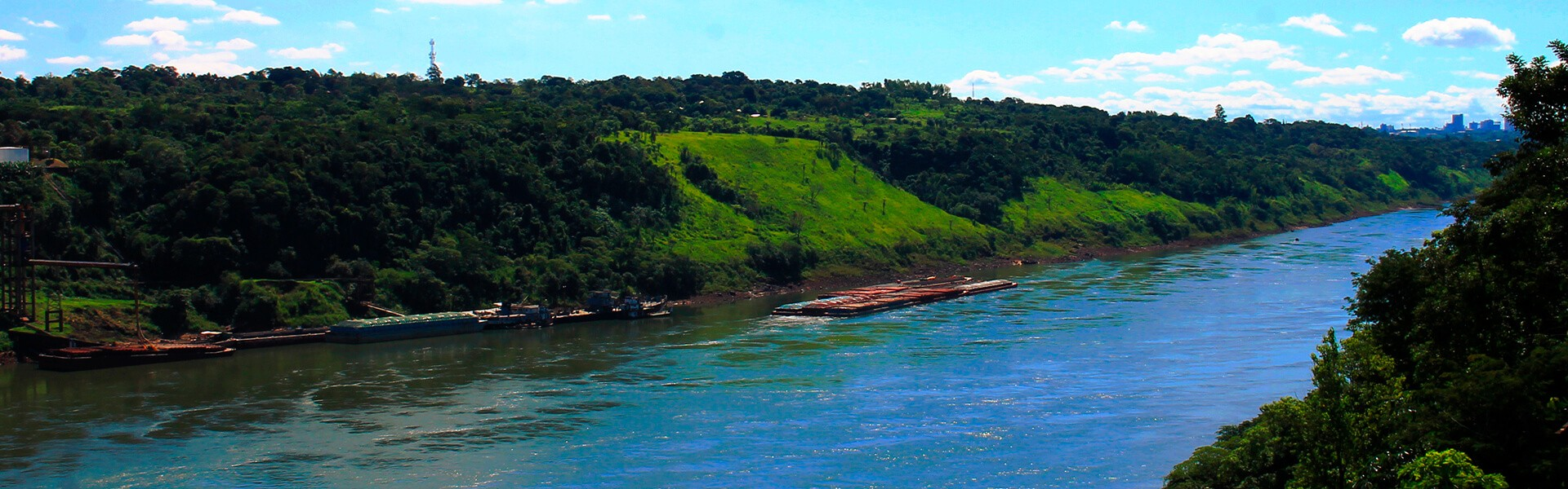 Navegações ficam impedidas no rio Paraná