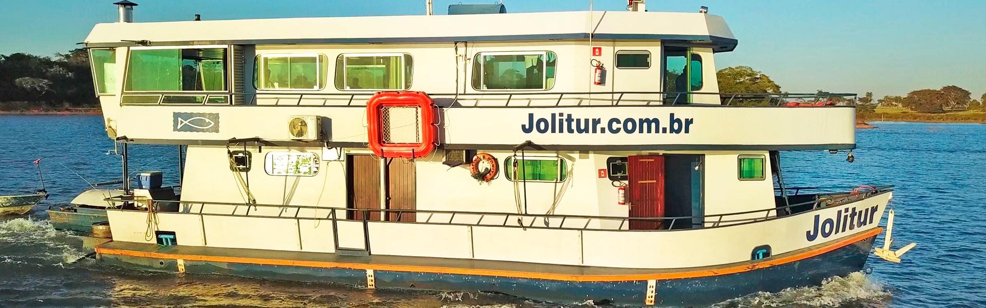 Novo destino chega à Fish TV: Jolitur Barco Hotel