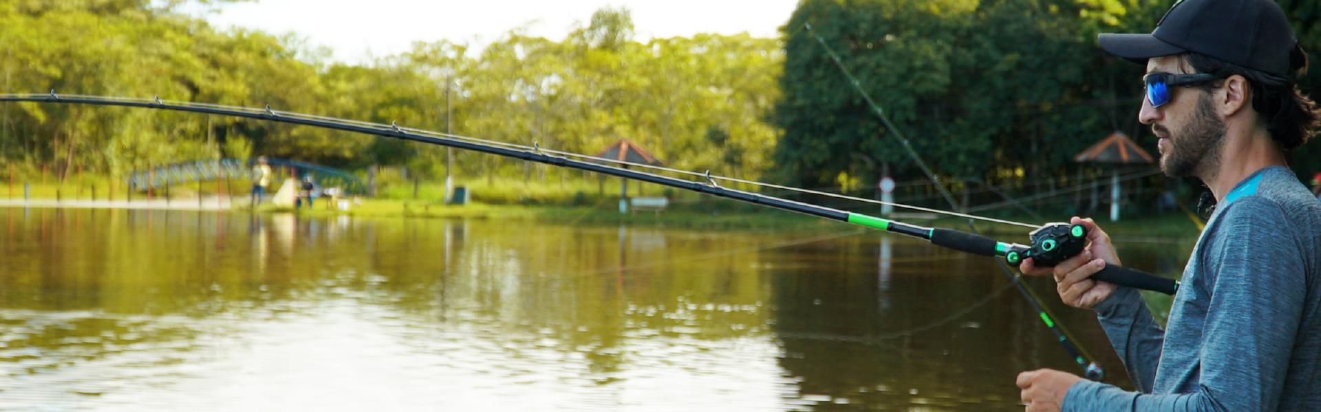 O que diferencia você de um pescador esportivo amador?