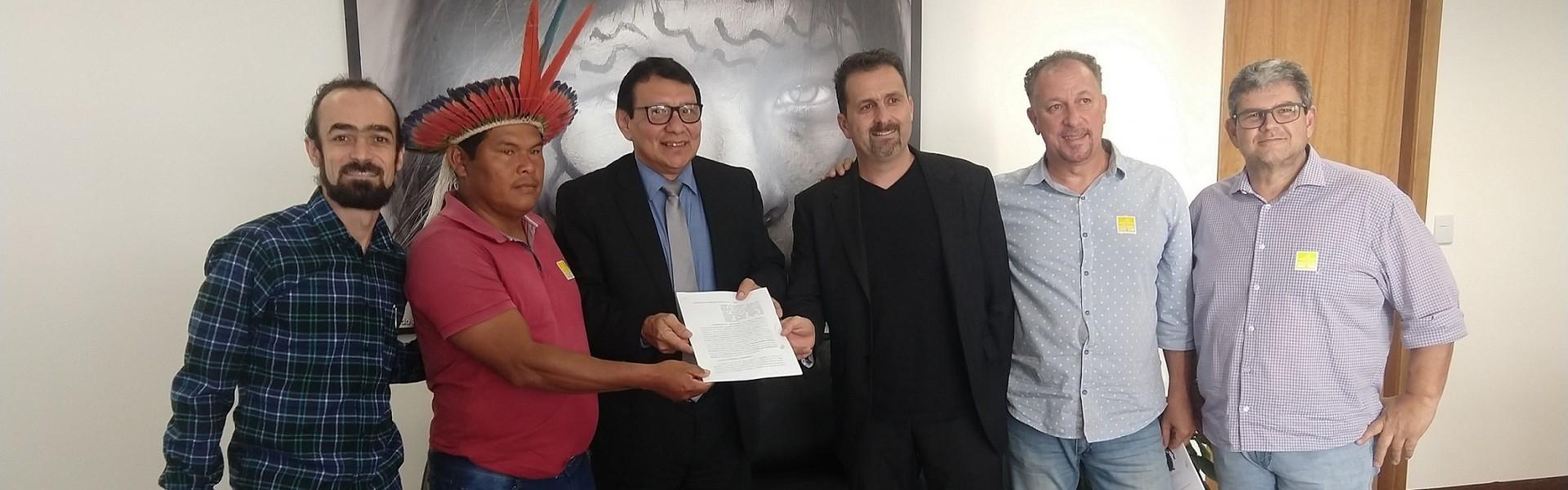 Funai e CBPE oficializam Acordo de Cooperação Técnica