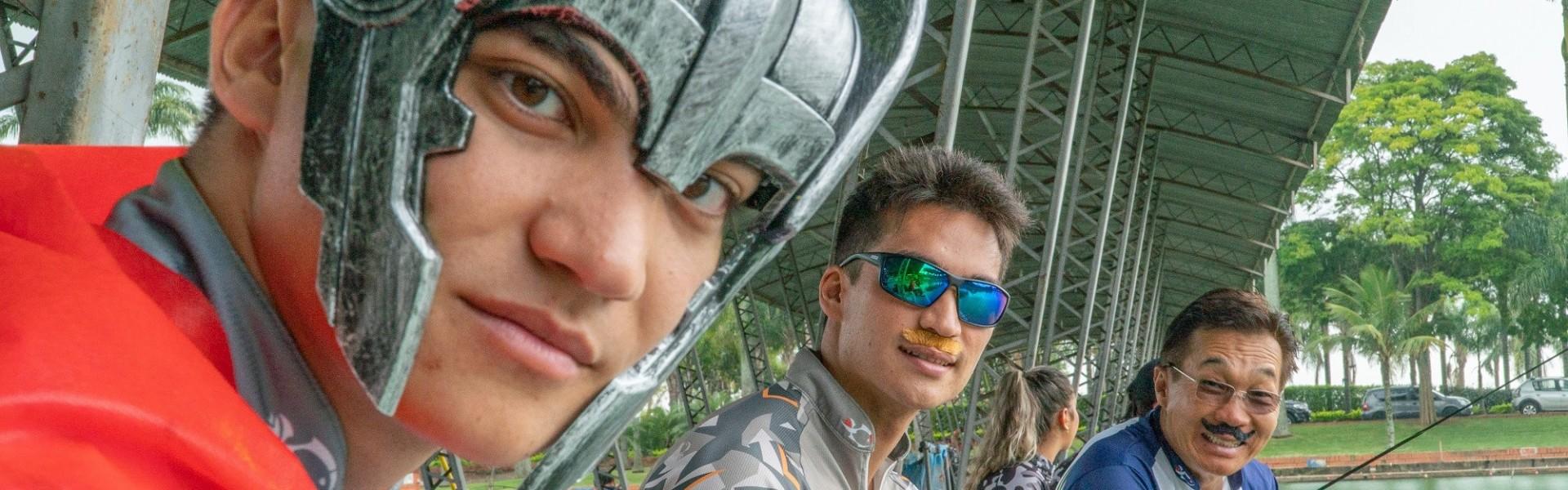 Família Nakamura, pesca esportiva