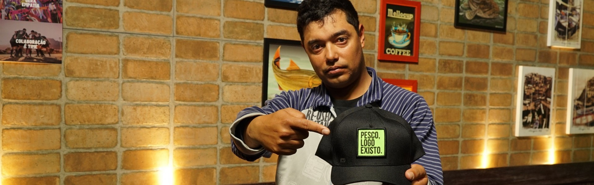 Willian Dias, responsável pelo grupo Carp Fishing RS