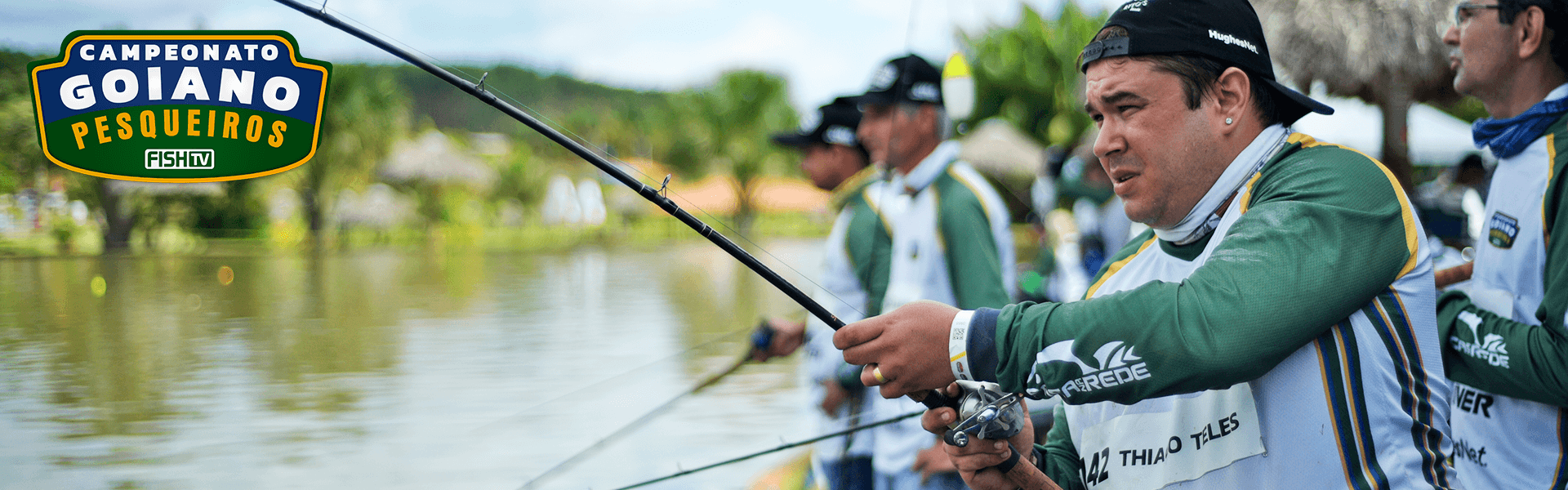 Campo Limpo de Goiás sedia maior campeonato de pesca esportiva de GO
