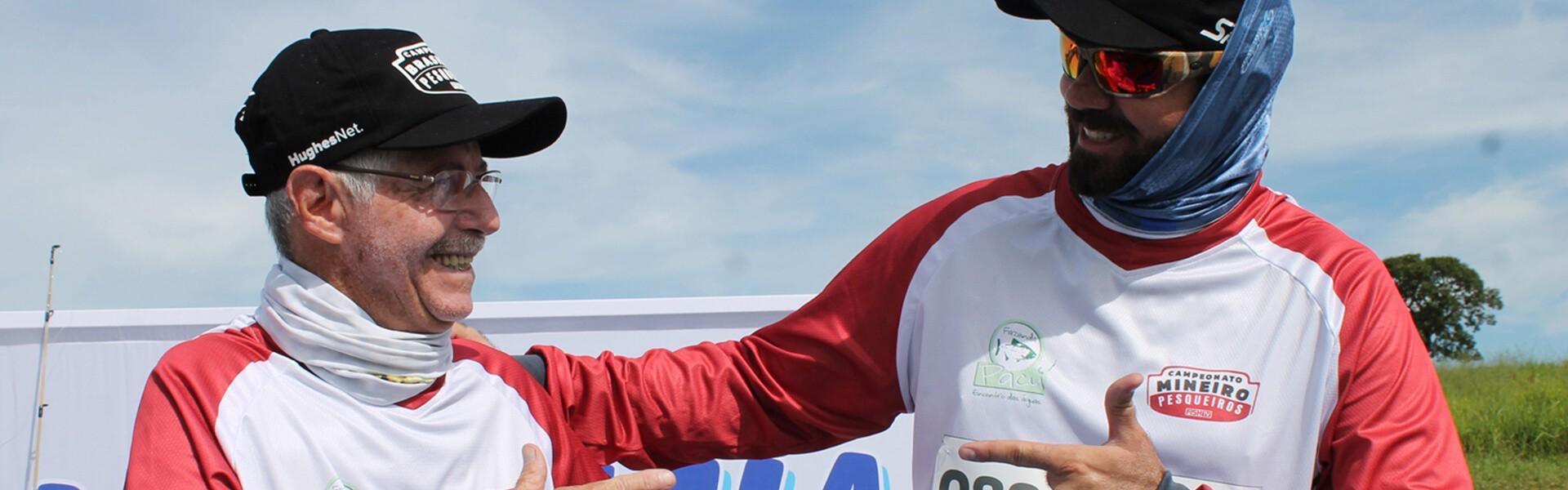 Convença sua dupla a participar do Campeonato Brasileiro em Pesqueiros