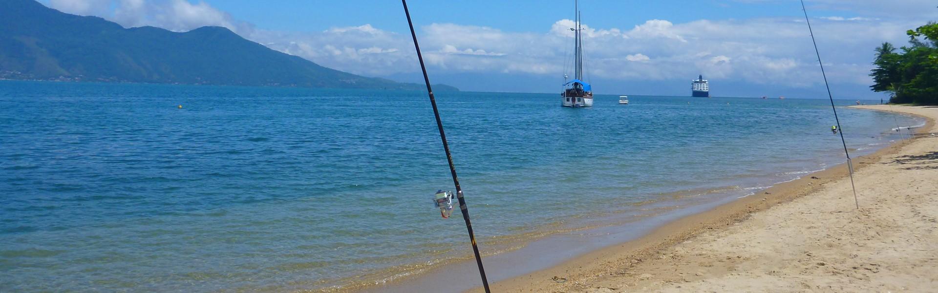 Pesca de praia: 3 peixes que você pode capturar no mar