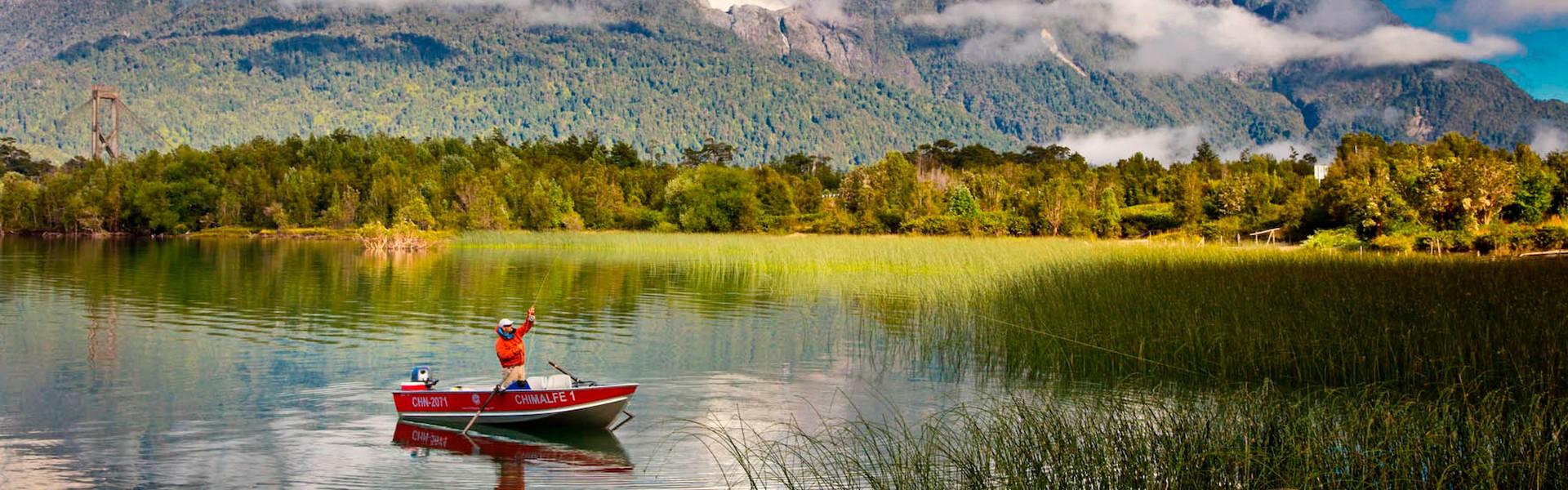 Muita pesca esportiva e turismo na mesma viagem