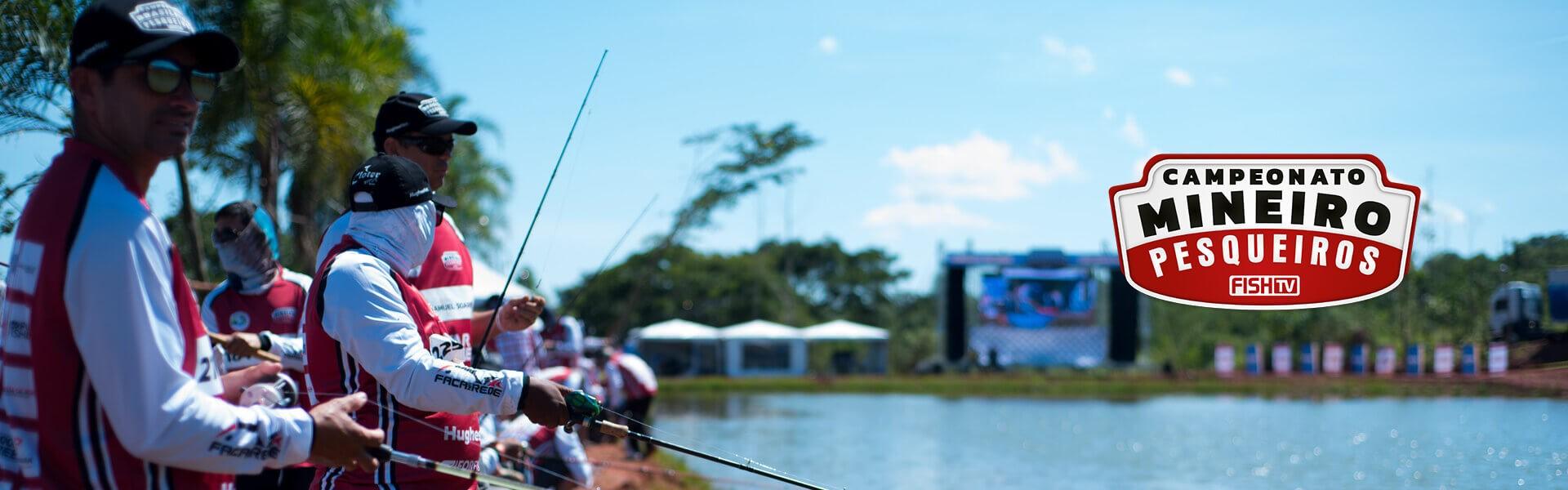 Conheça a arena de pesca do Campeonato Mineiro em Pesqueiros