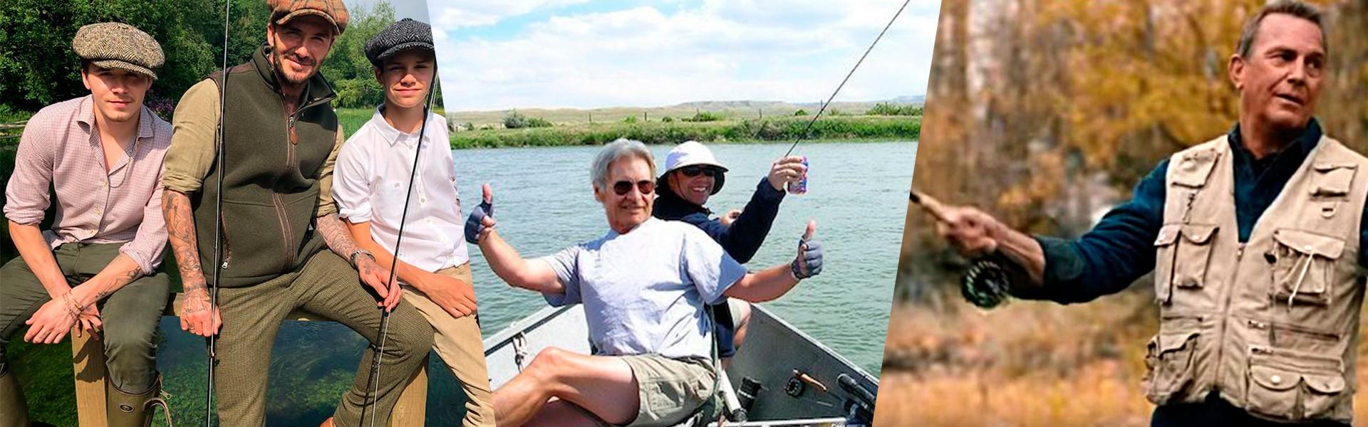 Fly Fishing: Famosos que pescam com mosca