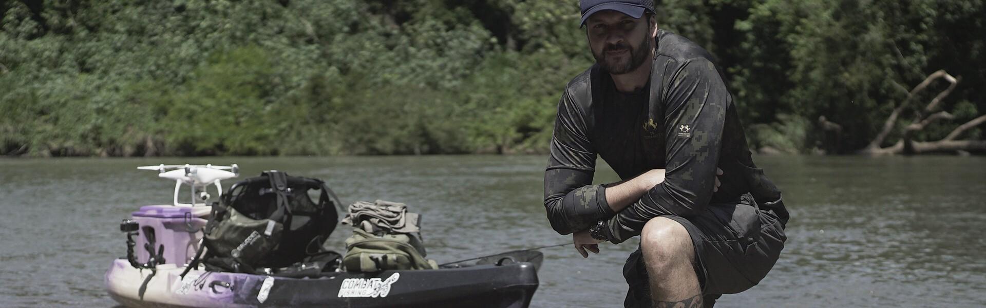 Pesca de caiaque está crescendo no Brasil