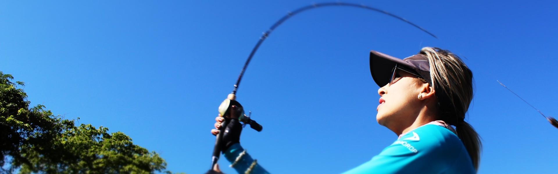Laís Vanessa: Da profissão de jornalista à paixão pela pesca