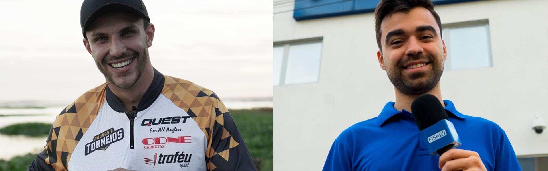 Alison Mota - Esquerda; Alexandre Gralak - Direita