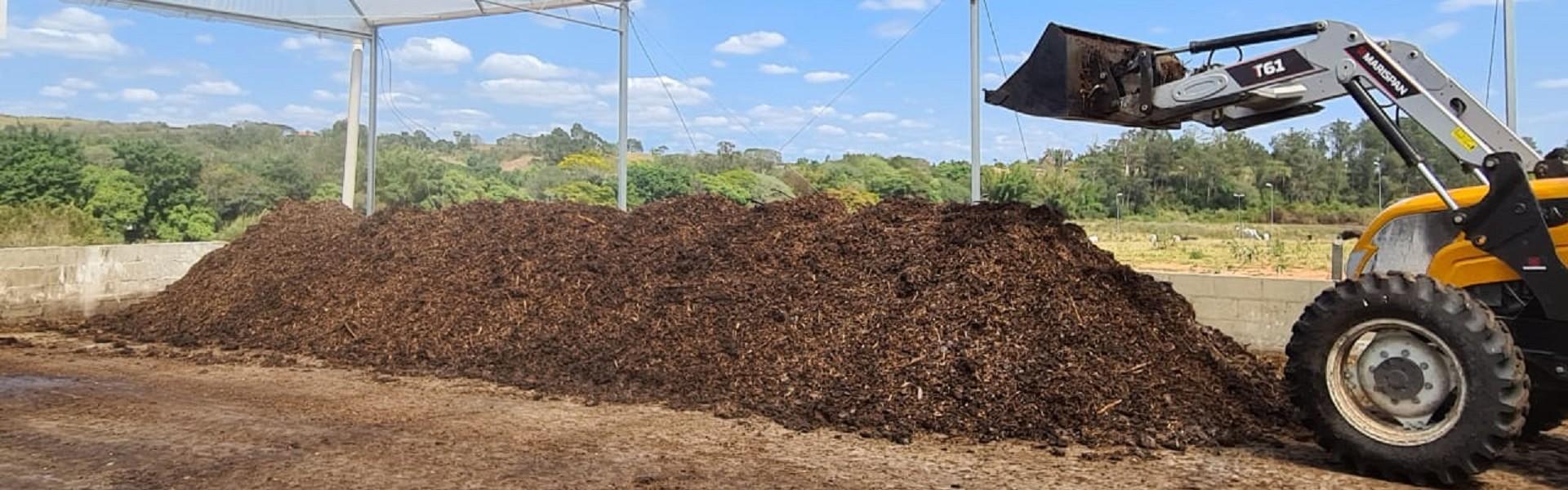 Resíduos usados na agricultura