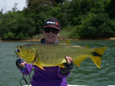 Pesca esportiva no Paraguai