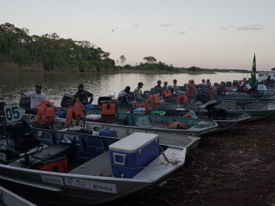 Pesca esportiva segue movimentando o final de semana com eventos