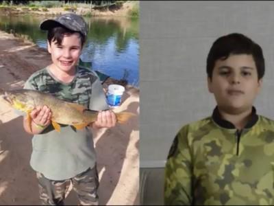 Paixão pela pesca esportiva que nasce na infância