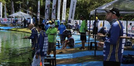Campeonato Brasileiro em Pesqueiros, dinâmica de prova