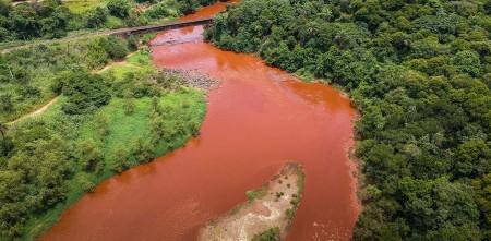 rio Paraopeba, rejeitos barragem
