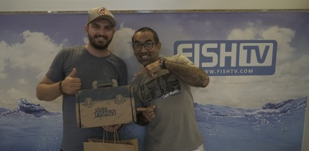 GANHADOR DE SORTEIO DO CLUBE VISITA SEDE DA FISH TV
