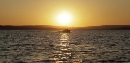 Pôr do sol, Três Marias, Minas Gerais