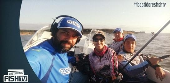 Bastidores Fish TV - Programa Destinos grava na Argentina
