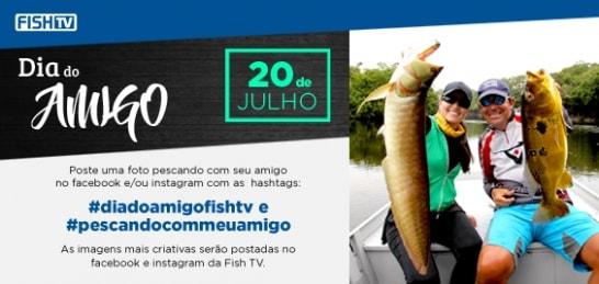 Fish TV lança campanha para o Dia do Amigo