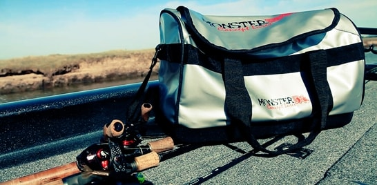 Monster 3X apresenta bolsa feita para o pescador