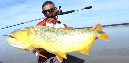 Marine Sports em pescarias pela Argentina