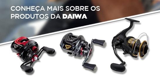 Momento da Pesca usa equipamentos Daiwa