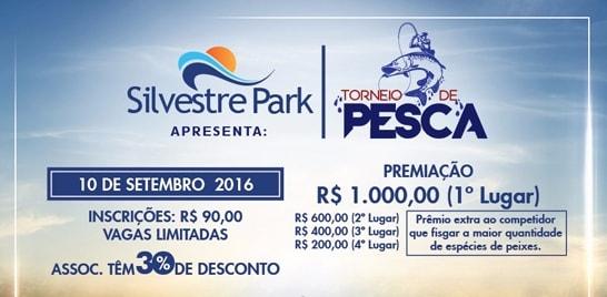 Hoje, dia 10, tem torneio de pesca esportiva em Goiás